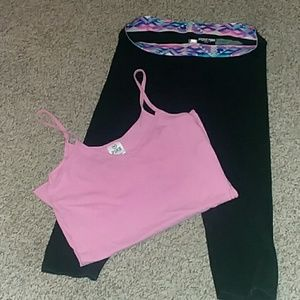 VS Pink yoga and tank